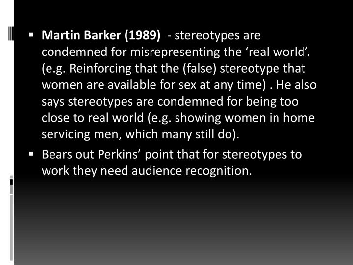 Martin Barker (1989)