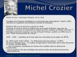 michel crozier1