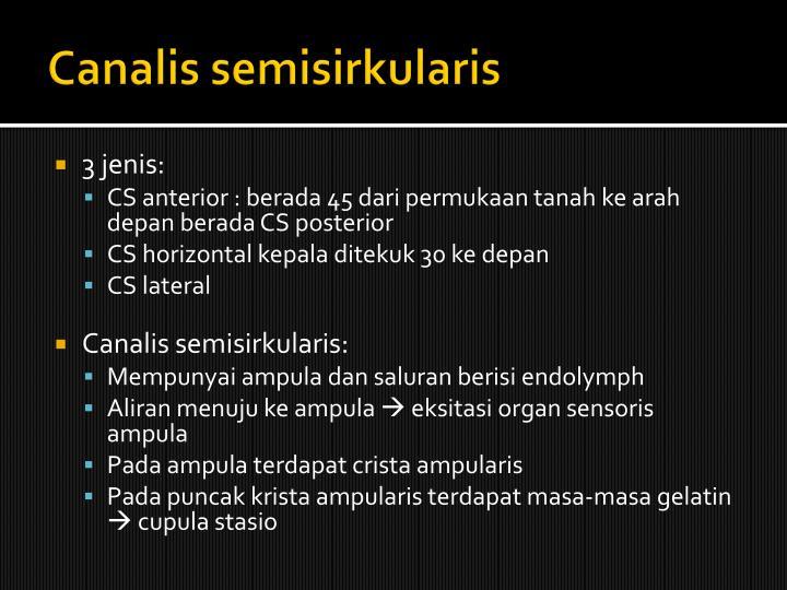 Canalis