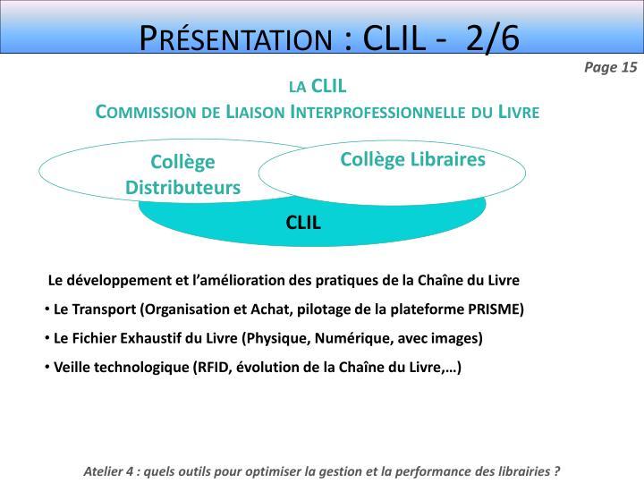 Présentation : CLIL -  2/6