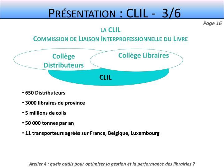 Présentation : CLIL -  3/6
