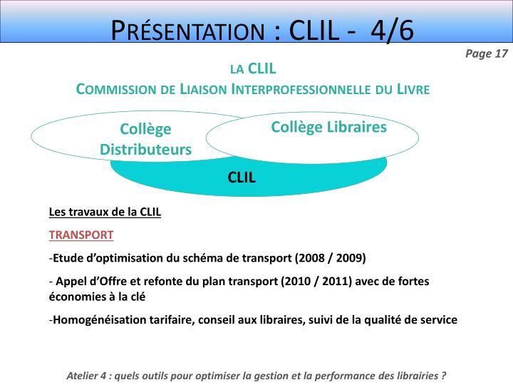 Présentation : CLIL -  4/6