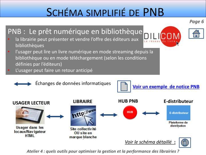 Schéma simplifié de PNB