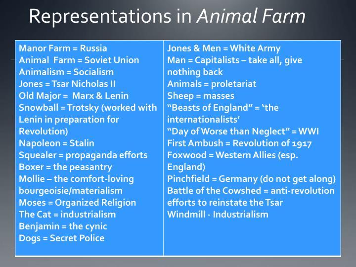 Representations in