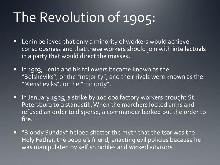 The Revolution of 1905: