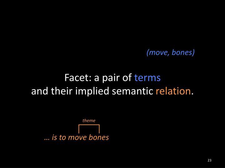 Facet: a pair of