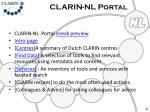 clarin nl portal