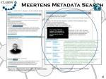 meertens metadata search9