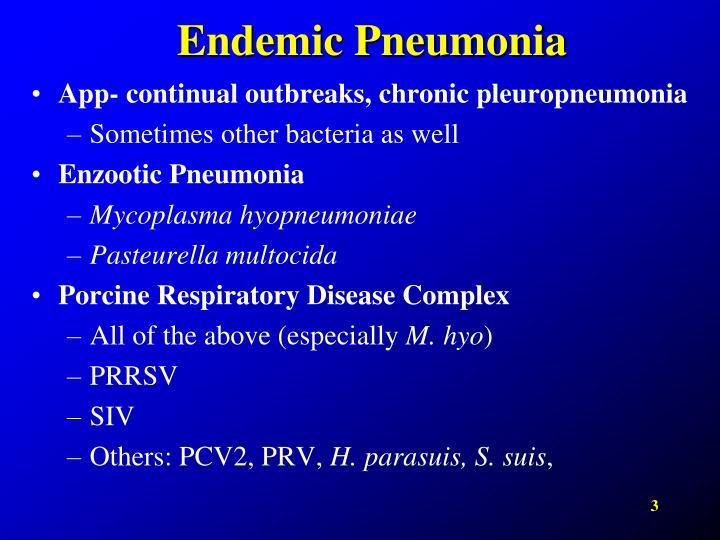 Endemic Pneumonia
