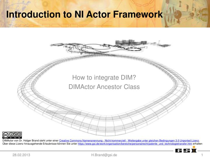 Introduction to ni actor framework