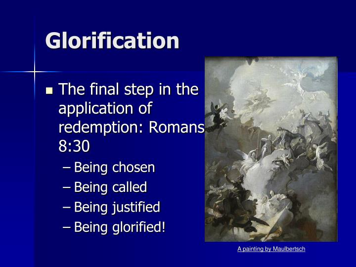 Glorification