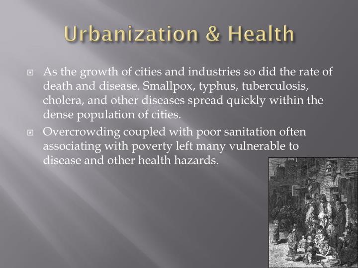 Urbanization & Health