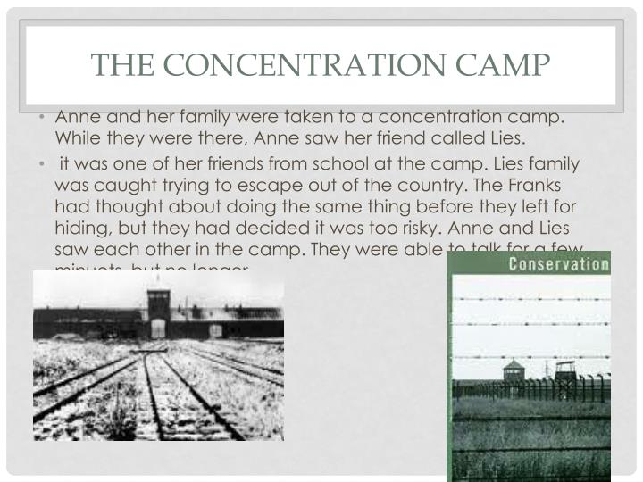 The concentration camp