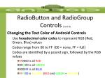 radiobutton and radiogroup controls cont d
