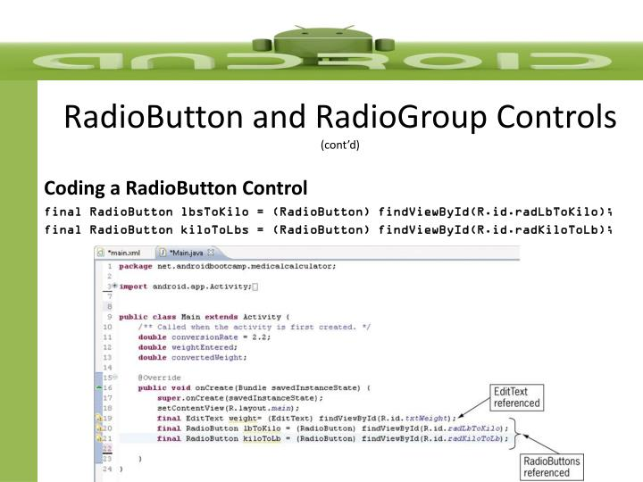 RadioButton
