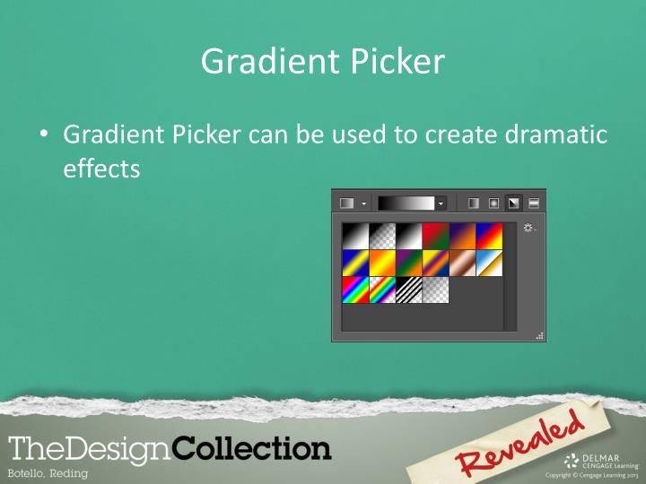 Gradient Picker