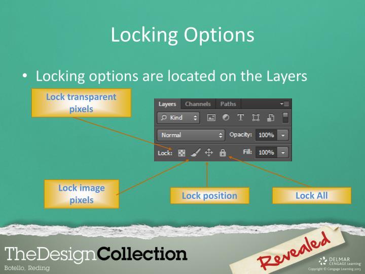 Locking Options