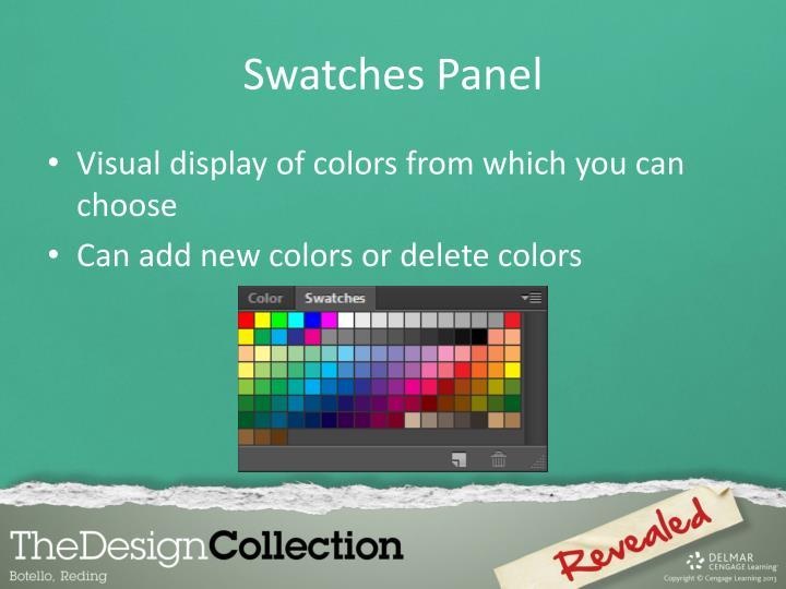 Swatches Panel