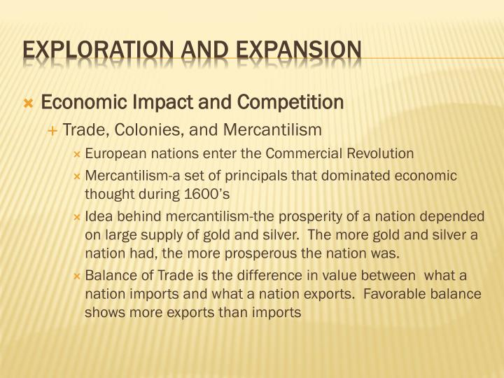 Economic Impact and Competition