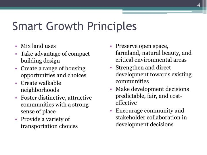 Smart Growth Principles