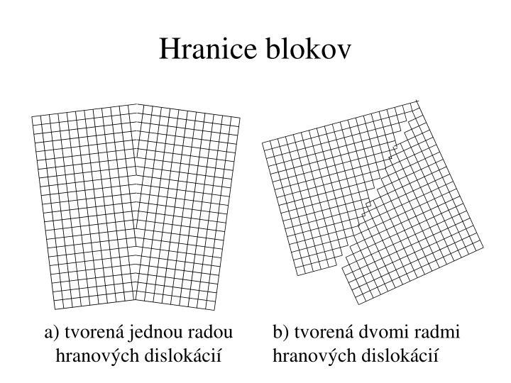 Hranice blokov