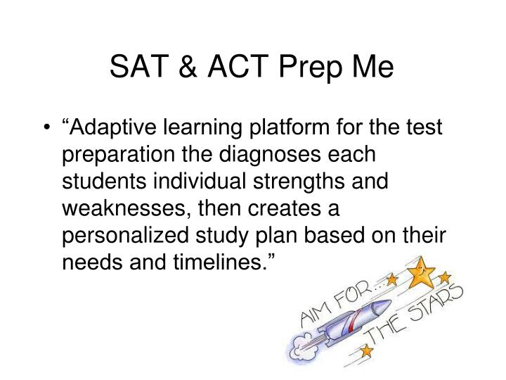 SAT & ACT Prep Me