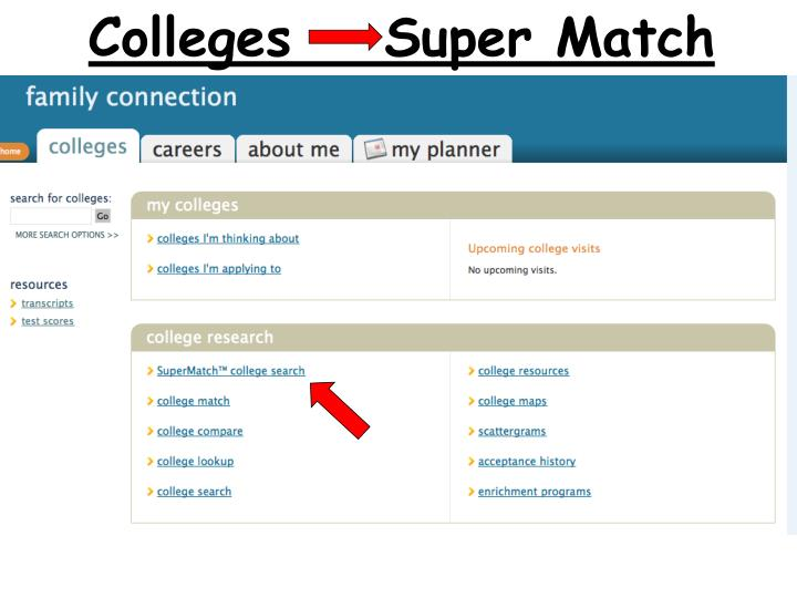 Colleges    Super Match
