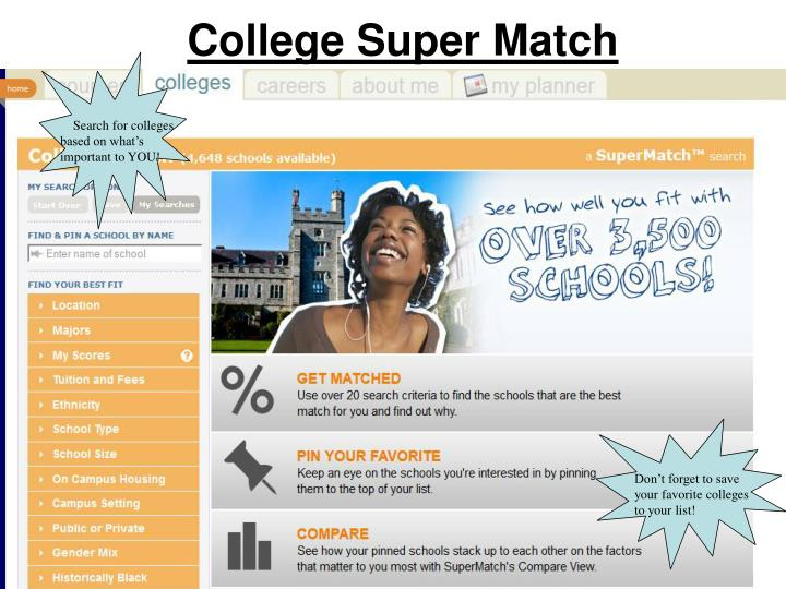 College Super Match