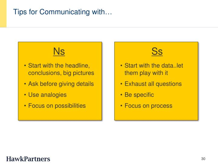 Tips for Communicating with…
