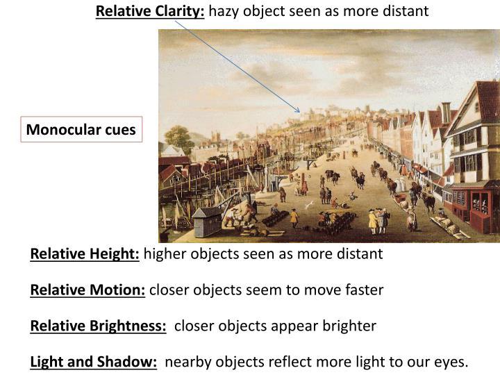 Relative Clarity: