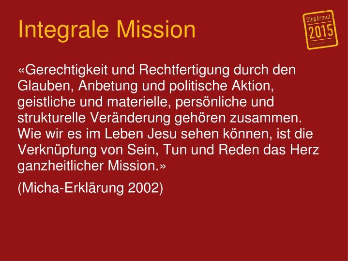 Integrale Mission