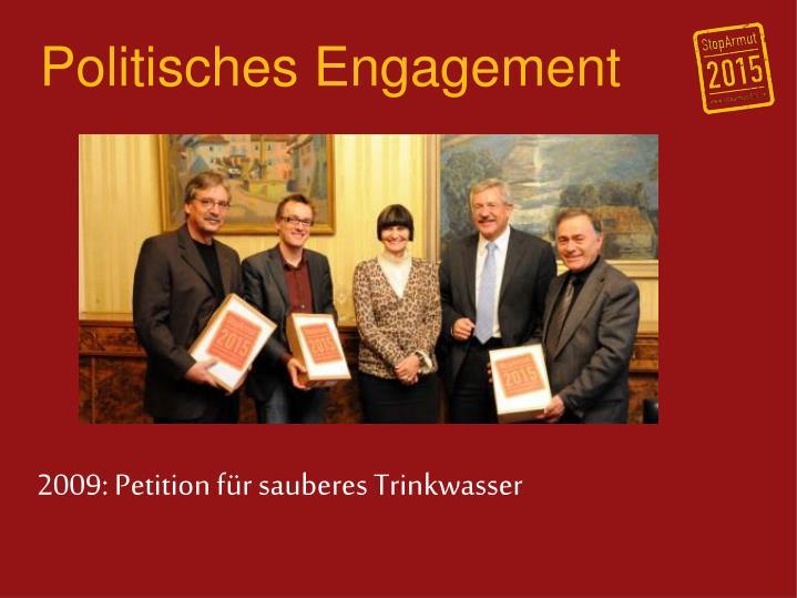 Politisches Engagement