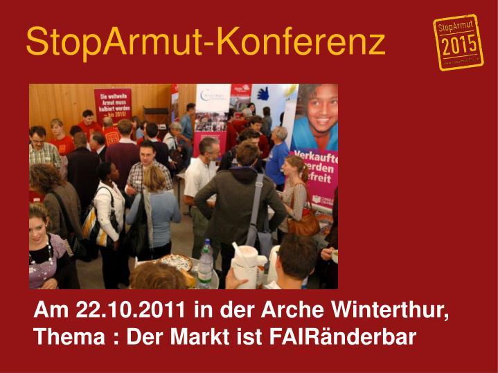 StopArmut-Konferenz