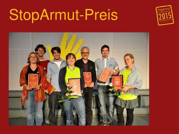StopArmut-Preis