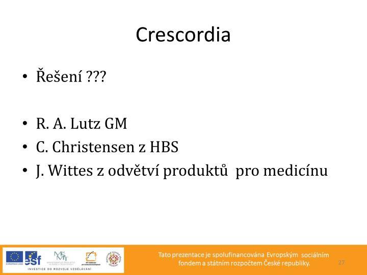 Crescordia