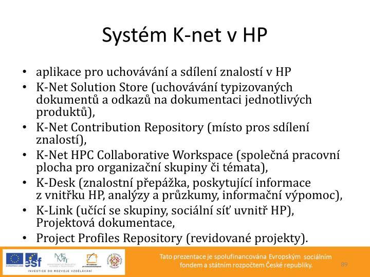 Systém K-