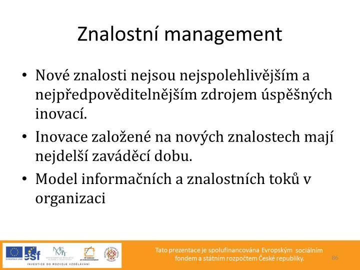 Znalostní management