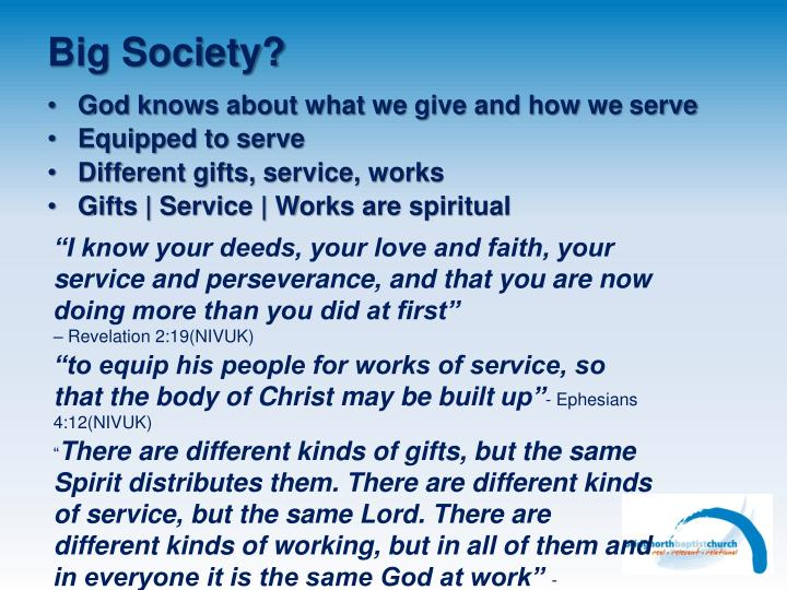 Big Society?