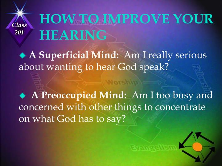 HOW TO IMPROVE YOUR HEARING