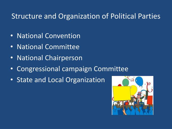 Structure and Organization of Political Parties