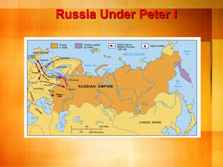 Russia Under Peter I