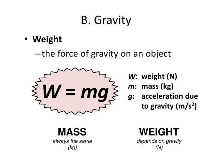 B. Gravity