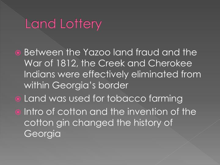 Land Lottery
