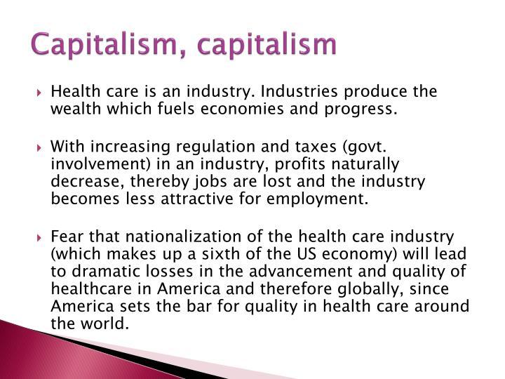 Capitalism, capitalism