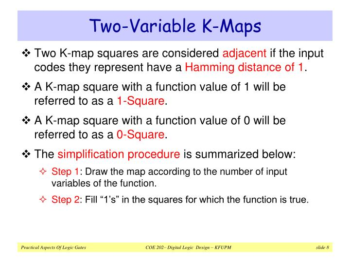 Two-Variable K-Maps