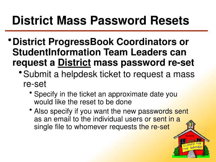 District Mass