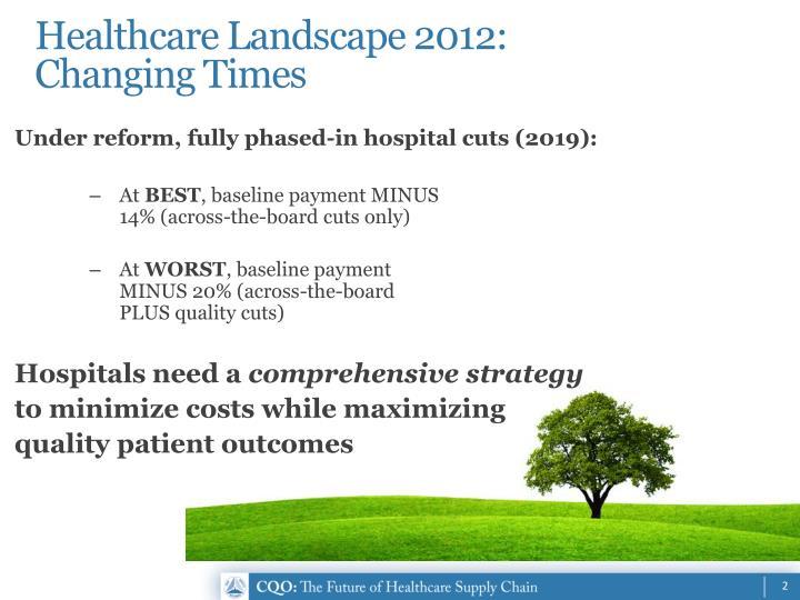 Healthcare Landscape 2012: