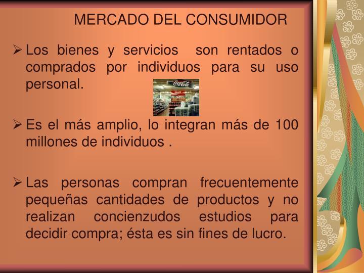 MERCADO DEL CONSUMIDOR