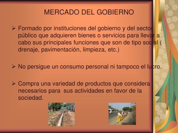 MERCADO DEL GOBIERNO