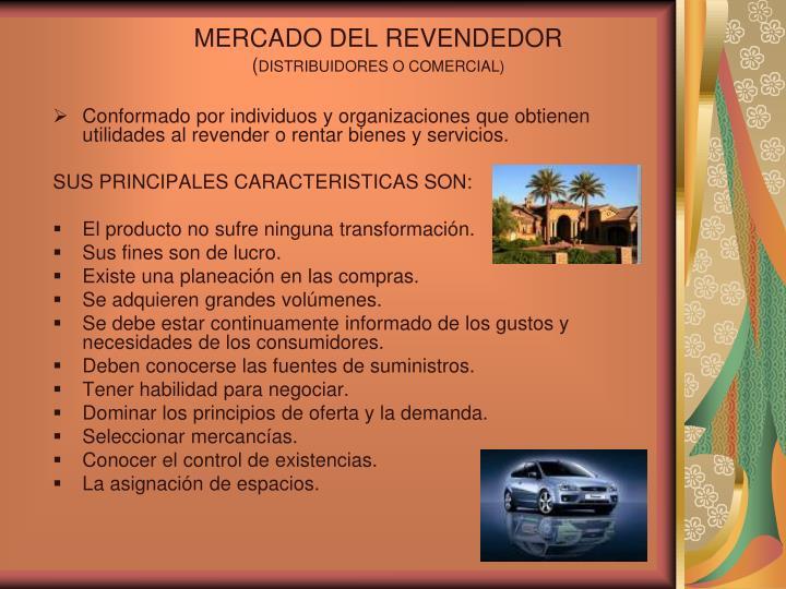MERCADO DEL REVENDEDOR